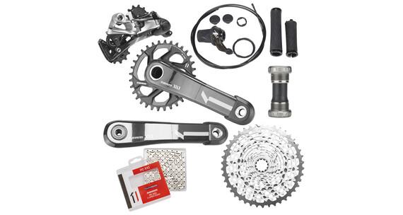 SRAM XX1 Cykeldele GXP 11-gears sort